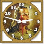 Puzzle Face Wall Clocks