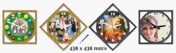 Custom clock face designs